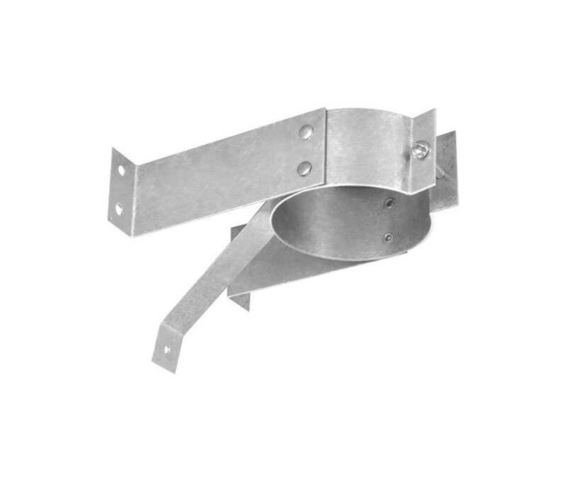 Duravent  4 in. Steel  Stove Pipe Wall Strap