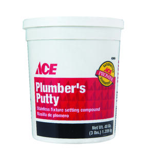 Ace  Plumbers Putty  3 lb.
