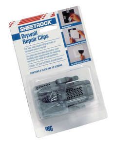 Sheetrock  White  Drywall Repair Clips
