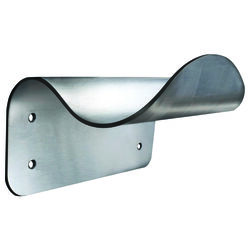 DoorWave 6-3/8 in. L Silver Stainless Steel Hands-Free Door Pull