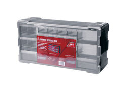 Ace  6-1/4 in. L x 19-1/2 in. W x 9-1/2 in. H Storage Organizer  Plastic  22 compartments Gray