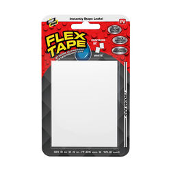 FLEX SEAL Family of Products FLEX TAPE MINI 3 in. W x 4 in. L White Waterproof Repair Tape