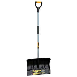 Yeoman  BustR  Plastic  18 in. W Snow Shovel