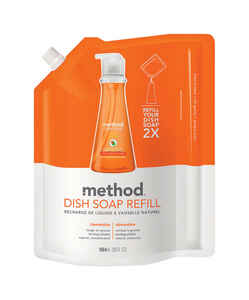 Method  Clementine Scent Liquid  Dish Soap Refill  36 oz.