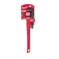Milwaukee 2-1/2 in. Pipe Wrench 18 in. L Black/Red