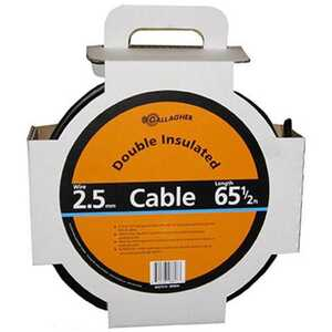 Gallagher  Double Insulated Underground Cable  Black