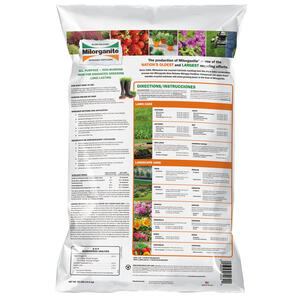 Milorganite  Organic 06-04-00  Slow-Release Nitrogen Fertilizer  For All Grass Types 32 lb. 2500 sq.
