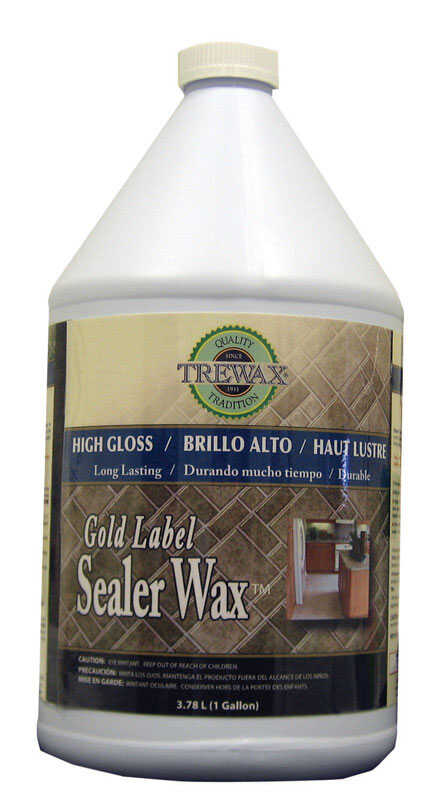 Trewax  Gold Label  High Gloss  Sealer Wax  1 gal.