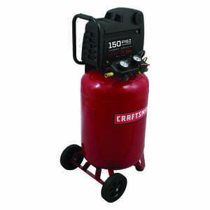 Craftsman  20 gal. Vertical  Portable Air Compressor  150 psi 1.5 hp