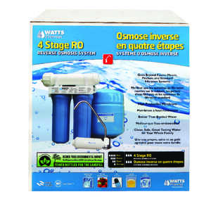 Watts  Premier  Water Filtration System  For Under Sink 3 gal.