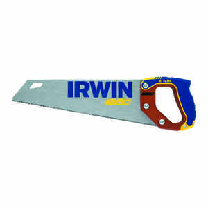 Irwin  Marathon  15 in. Fine Cut Saw  12 TPI