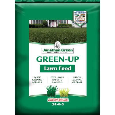 Jonathan Green  Green-Up  29-0-3  Lawn Fertilizer  For All Grass Types 45 lb. 15000 sq. ft.