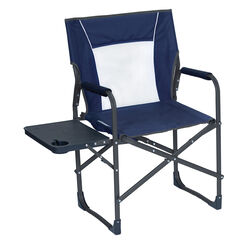 Non-Branded Navy Blue Director's Folding Chair