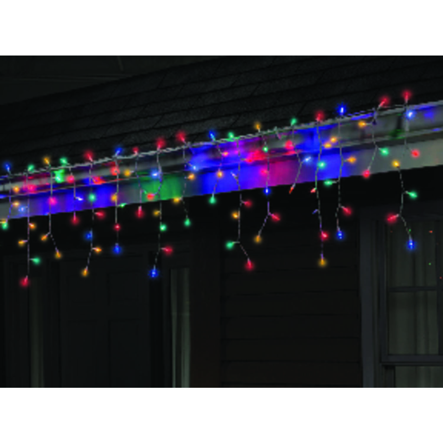 Celebrations  LED  Mini  Multi-color  100 count String  Christmas Lights  5.5 ft.