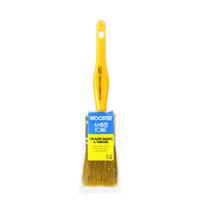 Wooster Amber Fong 1-1/2 in. W Flat Paint Brush