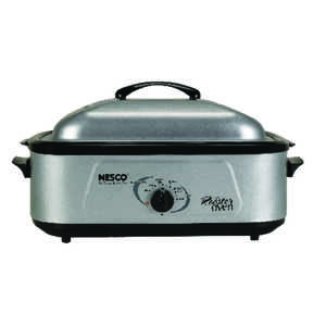 Nesco Professional Roaster Oven 120 volts/1,425 watts 18 qt. Large Stainless Steel