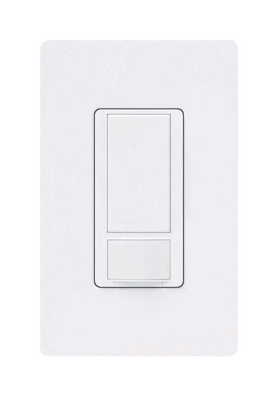 Lutron  5 amps Motion Sensor  Maestro Occupancy  Triple Combination Switch  White