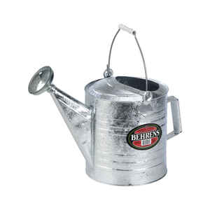 Behrens  Silver  2 gal. Watering Can  Steel