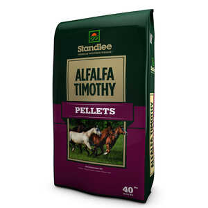 Standlee Premium Western Forage  Alfalfa/Timothy  Pellets  For Horses 40 lb.