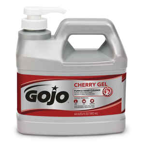 Gojo  Heavy Duty Gel  Cherry Scent Pumice Hand Cleaner  0.5 gal.
