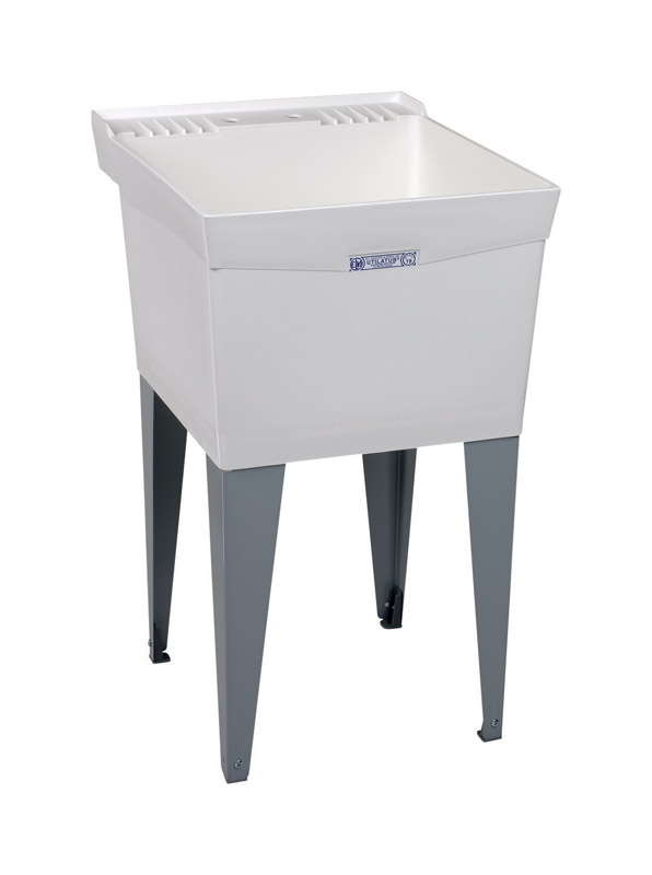 Mustee Laundry Tub Single Bowl 34 in. x 20 in. x 24 in. 18 gal.