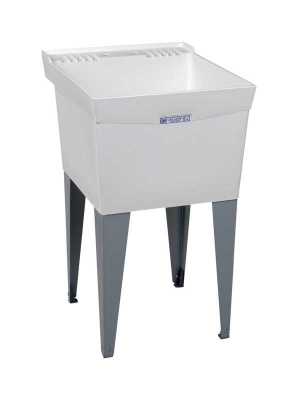 Utilatub  Single  Polypropylene  Laundry Tub