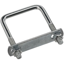 National Hardware 5/16 in. x 2 in. W x 3 in. L Coarse Zinc-Plated Steel Square U-Bolt