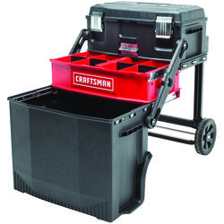 Craftsman  21.5 in. L x 16.2 in. W x 28.8 in. H Multi-Level Workstation  88 lb. capacity