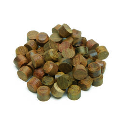 Starborn Pro Plug Round Plugs 5/16 in. Dia. x 0.25 in. L 100 pk Brown
