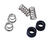 BrassCraft  1 in. #10  Rubber / Stainless Steel  Seat-Spring Kit  6 pc.