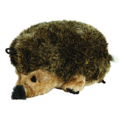 Zoobilee's Brown Hedgehog Plush Dog Toy Large 1
