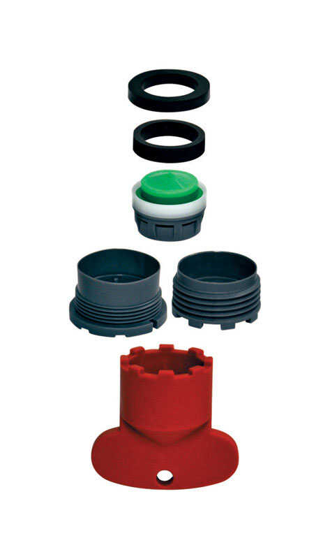 Ace Gray 0 75 In X 0 91 In Faucet Aerator Repair Kit 1
