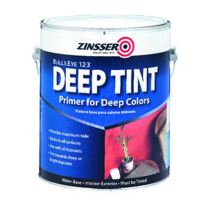 Zinsser  Bulls Eye 123 Deep Tint  White  Primer and Sealer  For All Surfaces 1 gal.