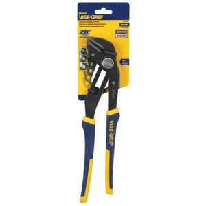 Irwin  Vise-Grip  12 in. Alloy Steel  Groovelock Pliers  Blue  1 pk