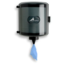 Harbor Blue Wiper Paper Towel Dispenser Wall Mount