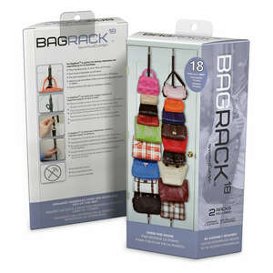 Perfect Curve  77 in. H x 3 in. W x 3 in. L 1 each Bag Rack  Plastic