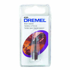 Dremel  0.3 in. Dia. x 1/4 in. L Emery  Drum Sander  60 Grit Coarse  1 pc.