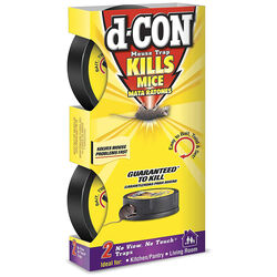 D-Con  Covered  Snap Trap  For Mice 2 pk