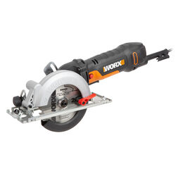 Worx 120 volt 4.5 amps 4-1/2 in. Corded Compact Circular Saw