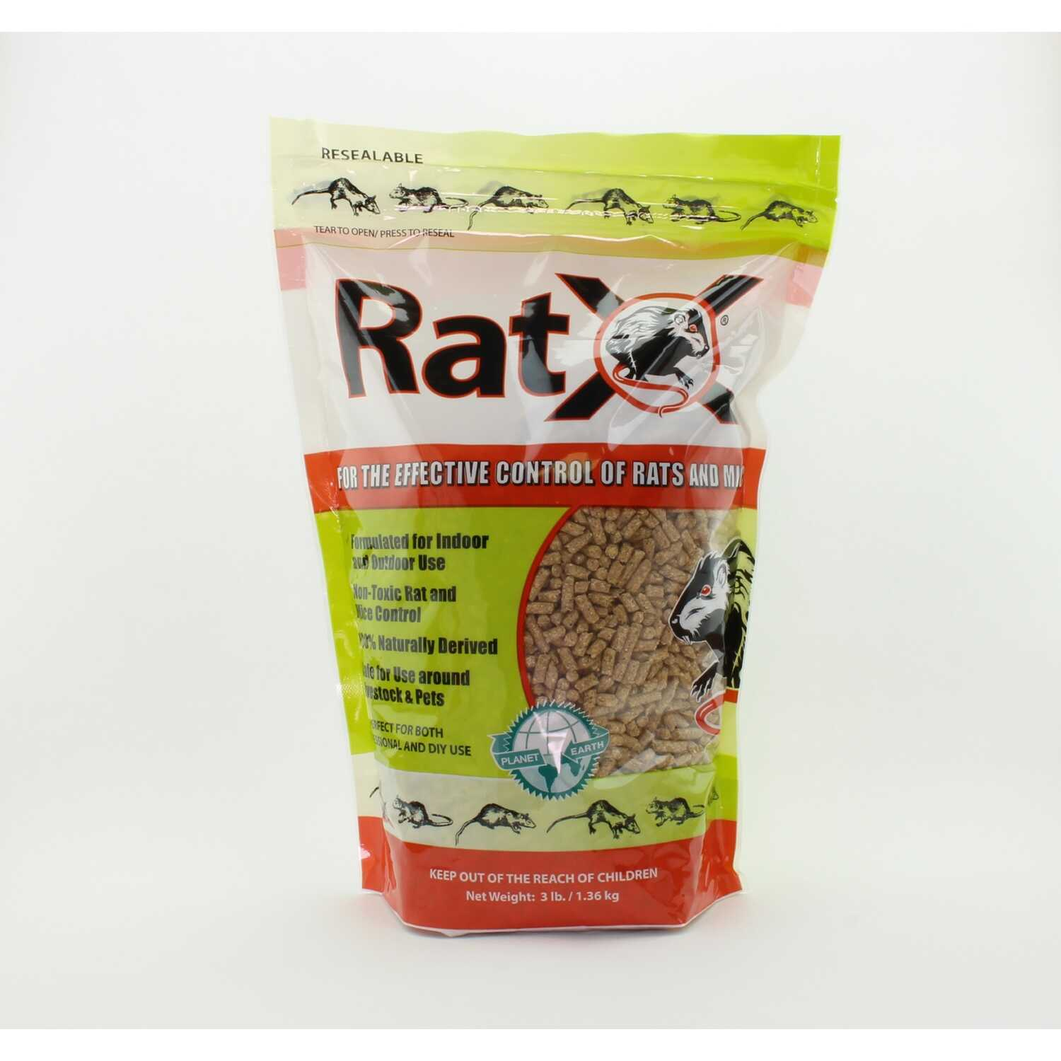 RatX  For Mice/Rats Killer  3 lb.