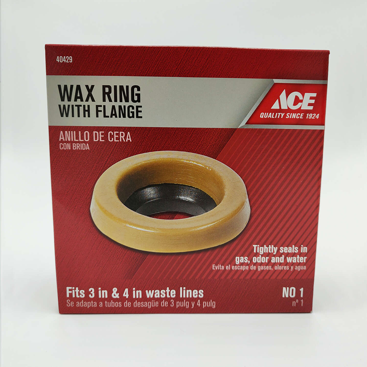 Ace Wax Ring with Flange
