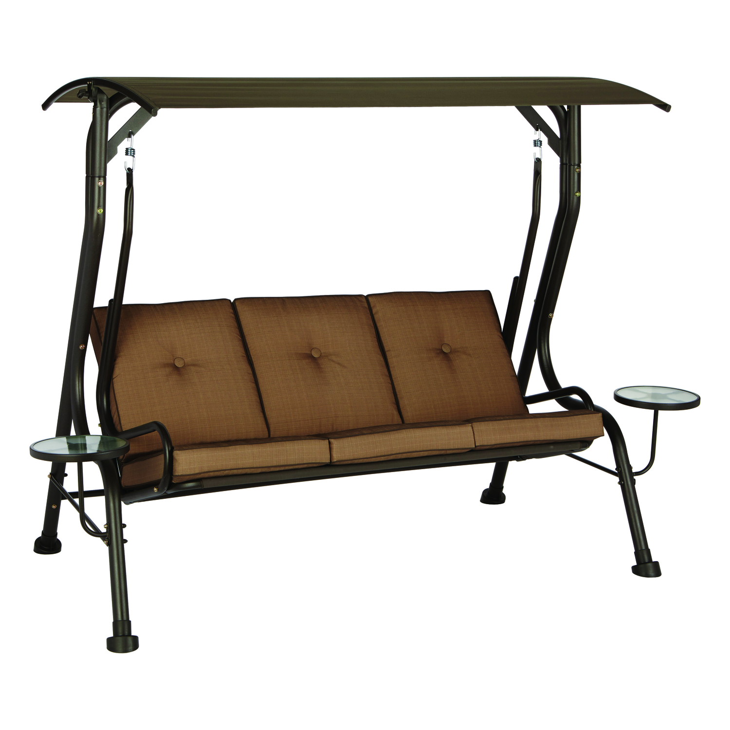 Incroyable Living Accents Steel Porch Swing 3 Person