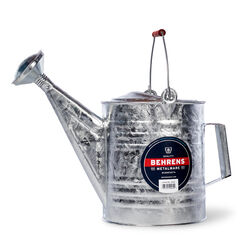 Behrens Silver 2 gal. Steel Watering Can