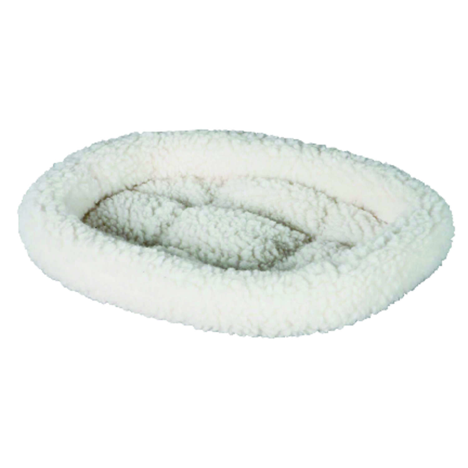 Petmate  White  Poly Cotton  Pet Bed  2 in. H x 18 in. W x 16 in. L