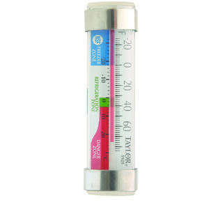 Taylor  Instant Read Analog  Freezer/Refrigerator Thermometer