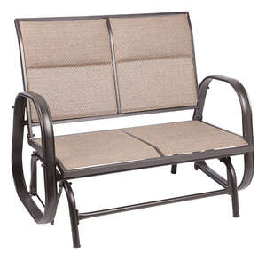 Living Accents  Newport  Steel with Sling Fabric  2  Glider