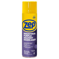 Zep  Unscented Scent Indusrial Purple Solvent Degreaser  13 oz. Spray