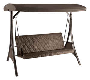 Living Accents  3-Seat  Steel  3  Swing  1 pc.