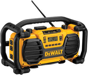 DeWalt  Worksite Radio and Charger  1 pc. 18 volts Ni-Cad
