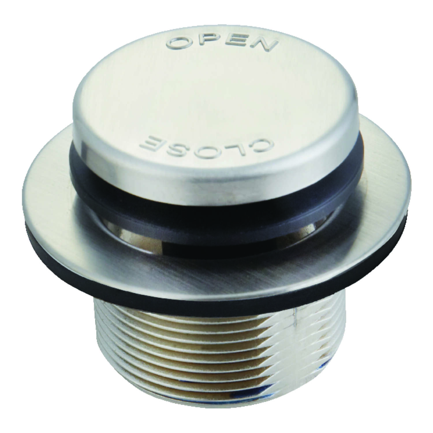Ace  1-1/2 in. Nickel  Round  Drain Assembly